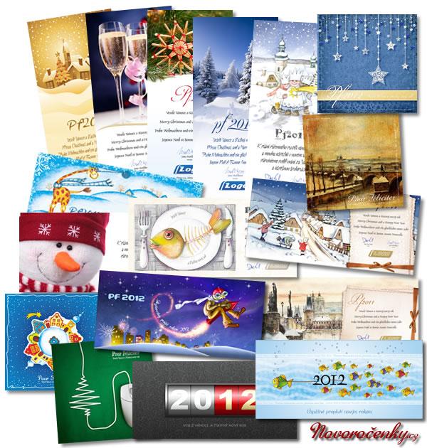 Novoročenky a vánoční přání